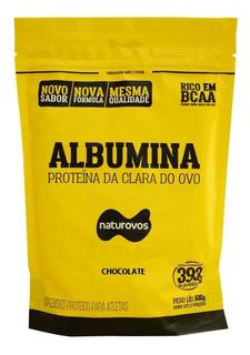 Albumina Refil - Chocolate 500g - Naturovos
