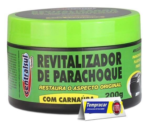 Revitalizador De Parachoque Pasta Carnauba Centralsul 200ml