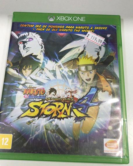 Naruto 4 Xbox One Mídia Física Semi Novo