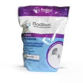 Raticida Rodilon® Bloco Extrusado 67x15g = 1kg