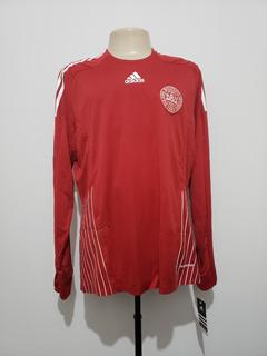 Camisa Futebol Oficial Seleção Dinamarca 2008 Home adidas Gg