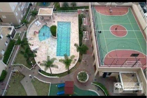 Imagem 1 de 12 de Apartamento Com 3 Dormitórios À Venda, 57 M² Por R$ 325.000,00 - Jardim Irajá - São Bernardo Do Campo/sp - Ap0894