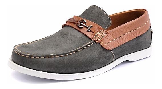 Mocassim Masculino Couro Tamanho Especial Shoes Grand 4765