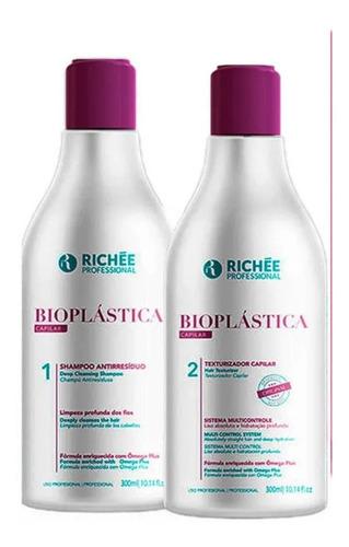Kit Progressiva Richée Professional Bioplástica Duo- 2x300ml