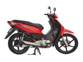 Honda Biz Full 125 Nueva Roja Negra Moto Sur 2018