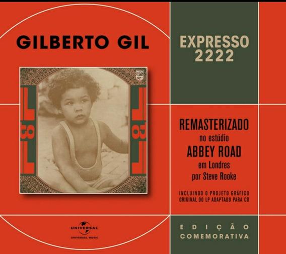Gilberto Gil Cd Exprosso 2222 Lacrado De Fabrica Com Luva