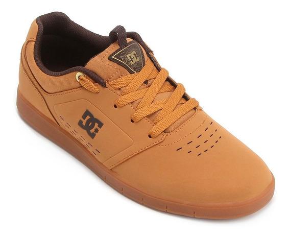 Tênis Dc Shoes Cole Signature Adys100031-we9 Caramelo