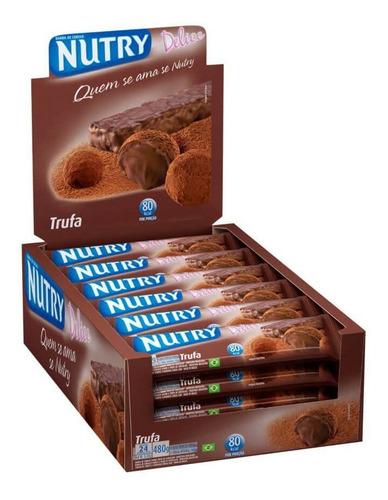 Nutry Barra De Cereal Trufa C/24