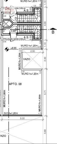 Cobertura Com 2 Dormitórios À Venda, 100 M² Por R$ 290.000,00 - Vila Curuçá - Santo André/sp - Co0739