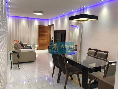 Imagem 1 de 30 de Sobrado Com 4 Dormitórios À Venda, 178 M² Por R$ 850.000,00 - Canto Do Forte - Praia Grande/sp - So0077