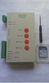 Controladora Sd Card T1000s Original Para Led Enderecavel