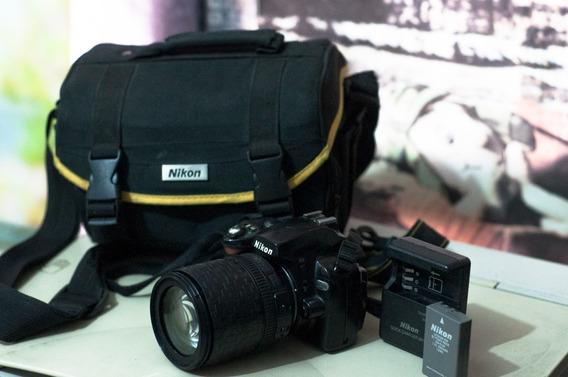 Camara Nikon D40x + Lente 18/105 + Cargador + Bolso Origina
