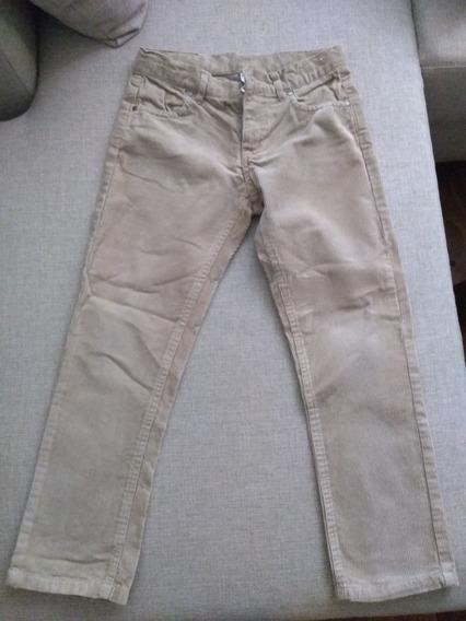 Jeans De Corderoy Para Niño Talle 8