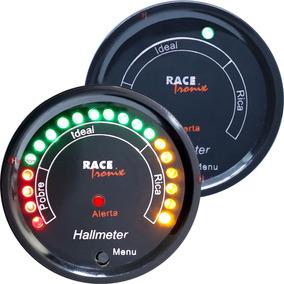 Hallmeter Digital Racetronix 52mm Programável Led Ar/combust