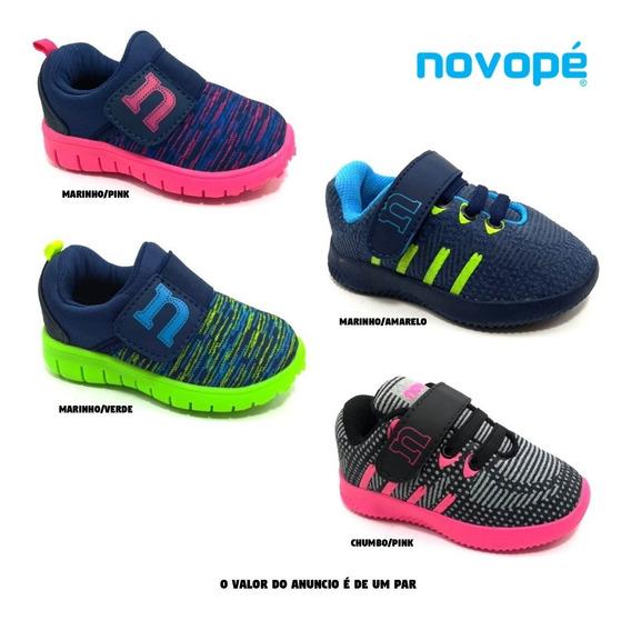 Tênis Infantil Novopé 100n 200n - Super Conforto - 20 Ao 27