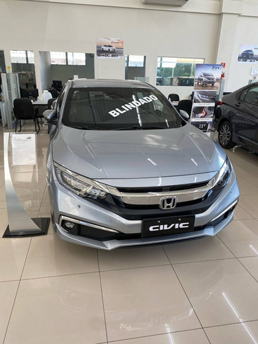 Imagem 1 de 8 de Honda Civic 2.0 16v Flexone Exl 4p Cvt