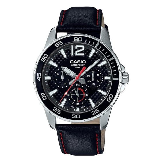 Relógio Casio Masculino Marine Sports Preto Mtd-330l-1avdf