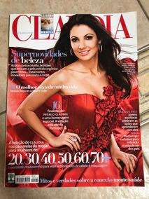 Revista Claudia 575 Patrícia Poeta Bibi Ferreira Ano 2009
