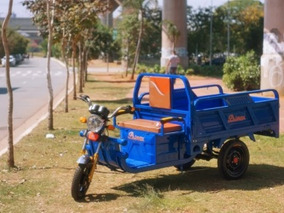 Triciclo Eletrico De Carga Novo