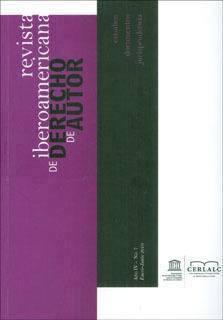 Revista Iberoamericana De Derecho De Autor. Año Iv - No. 7
