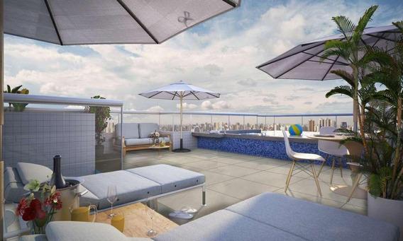 Imperdivél!! Entrada Parcelada Em 22 Meses, Apartamento Com 1 Dormitório À Venda, 32 M² Por R$ 187.000 - Canto Do Forte - Praia Grande/sp - Ap2758