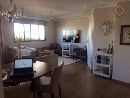 Apartamento Com 3 Dormitórios À Venda, 112 M² Por R$ 900.000,00 - Campo Belo - São Paulo/sp - Ap36723