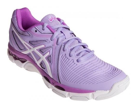 Zapatillas Asics Ballistic Voley Indoor Mujer - Estacion Deportes Olivos