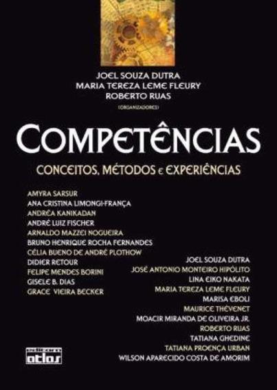 Livro Competencias Conceitos Métodos E Experiencias