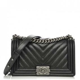 Bolsa Chanel Le Boy 2.55 Media Original 100% Autentica