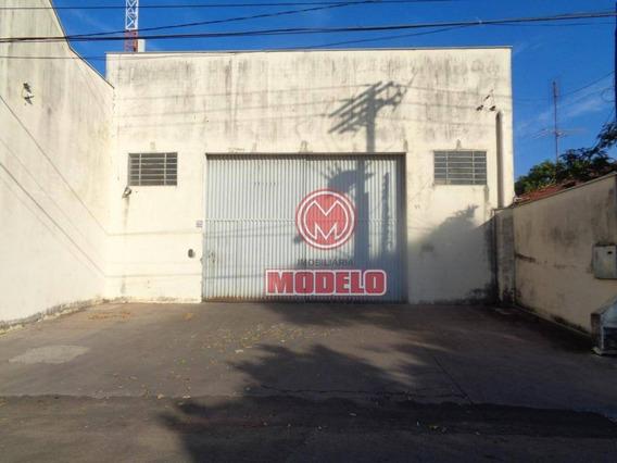 Barracão À Venda, 625 M² Por R$ 1.200.000,00 - Dois Córregos - Piracicaba/sp - Ba0304