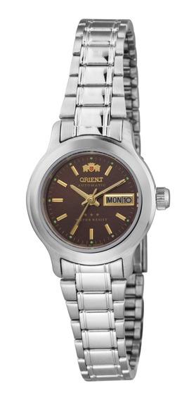 Relógio Orient Automático Feminino Marrom 559wa6x M1sx