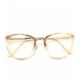 914c40cd0 Oculos Redondo Dourado - Óculos com o Melhores Preços no Mercado ...