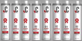 Escova Progressiva Jc + Brinde 4 Kit 2x1 Litro