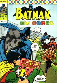 Batman 10 Ebal Em Cores - Encontra Os Beatles