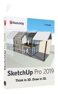 Sketchup Pro 2019 + V-ray Next 4.0 + Materiales+ Componentes