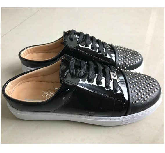 Sneaker Zapatilla Toledo Mujer Cuero Alfonsina Multistore