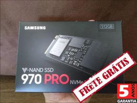 Ssd Samsung 970 Pro 512gb Nvme M.2 Mz-v7p512bw