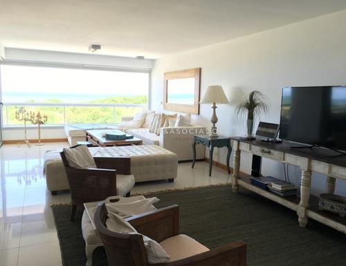 Apartamento Primera Fila Playa Brava 4 Dormitorios - Indigo Punta Del Este- Ref: 2100