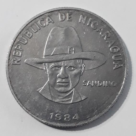 Moneda 1 Córdoba 1984 Nicaragua.