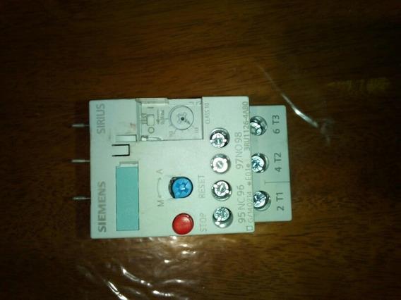 Relevador De Sobrecarga Siemens 3ru1126 4ab0, De 11-16 Amp