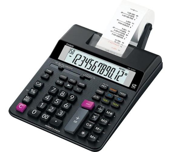 Calculadora De Bobina Casio Impressão Em 2 Cores Bivolt Nota