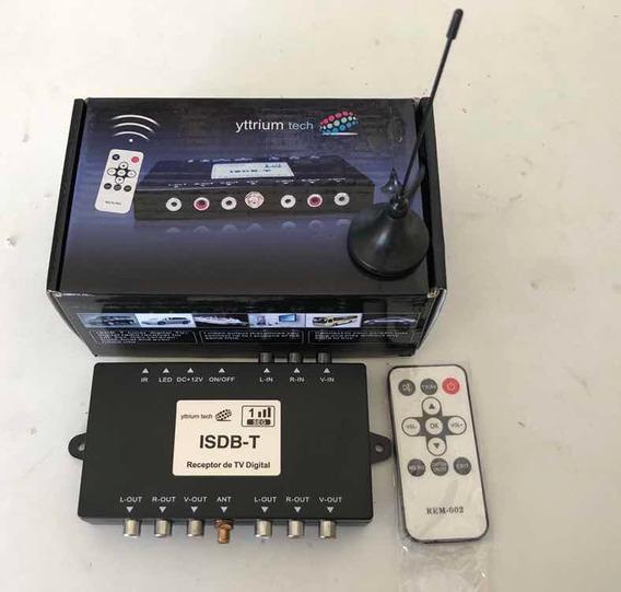 Receptor De Tv Digital Automotivo Trinihum