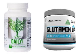 Kit Corona Daily Fórmula + Vitamina C + Glutamin Up