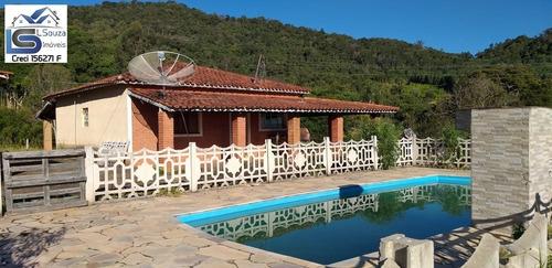 Lindíssima Chácara Localizada Em Excelente Bairro De Pedra Bela; - 908 - 34144339