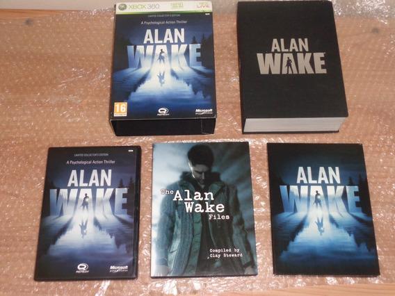Alan Wake Edição De Colecionador - Limited Edition- Xbox 360