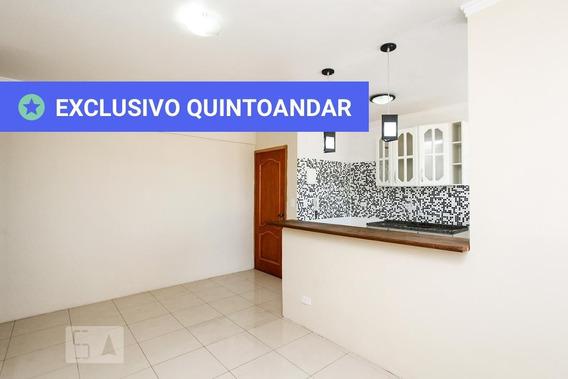 Apartamento No 6º Andar Com 1 Dormitório E 1 Garagem - Id: 892956588 - 256588