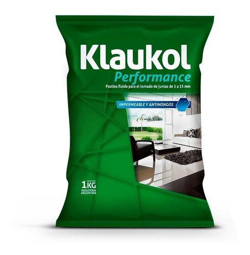 Imagen 1 de 2 de Pastina Alta Performance Para Porcellanato (1kg) Klaukol