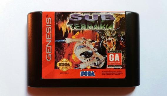 Subterrania Mega Drive Original E Impecável