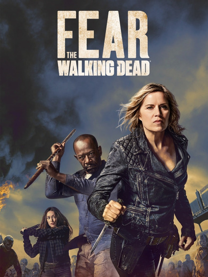 Fear The Walking Dead 4° Temporada - Dublado - Frete Grátis