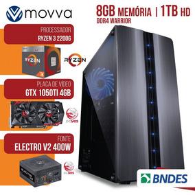 Computador Gamer Amd Ryzen 3 2200g 3.5ghz Mem.8gb Hd 1tb Gtx